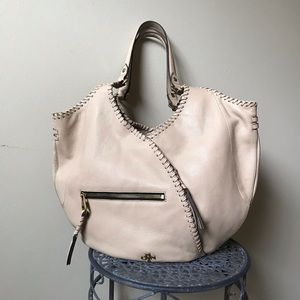 orYANY Double Strap Leather Hobo